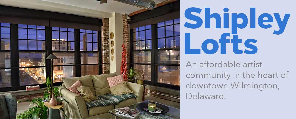 Shipley Lofts in the heart of downtown Wilmington, Delaware